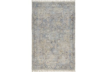 """3'5""""x5'5"""" Rug-Multi Faded Traditional Beige"""