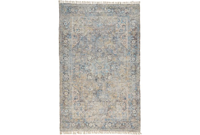 """7'5""""x9'5"""" Rug-Multi Faded Traditional Beige - 360"""
