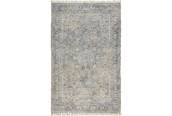 9'x12' Rug-Multi Faded Traditional Beige