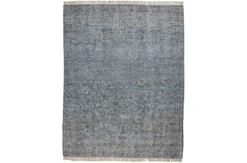 42X66 Rug-Multi Faded Traditional Blue
