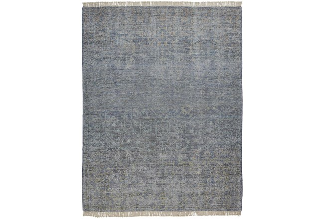 """7'5""""x9'5"""" Rug-Multi Faded Traditional Blue - 360"""