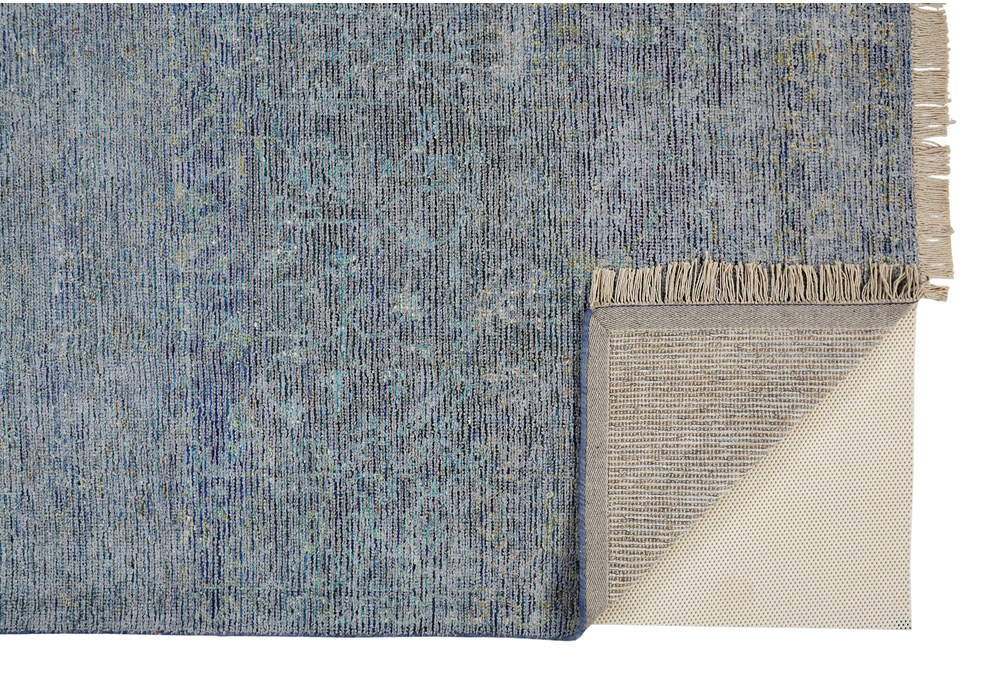 9'x12' Rug-Multi Faded Traditional Blue