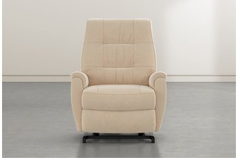Rogan II Almond Power-Lift Recliner