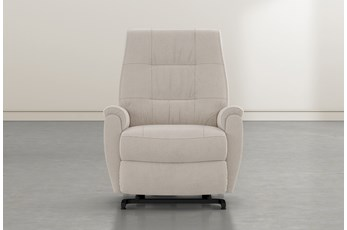 Rogan II Taupe Power-Lift Recliner