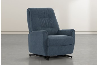 Rogan II Denim Power-Lift Recliner