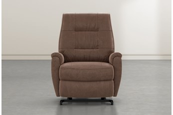 Rogan II Brown Power-Lift Recliner