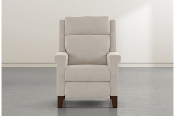 Jayden Taupe Power Recliner With Power Headrest