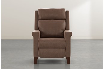 Jayden Brown Power Recliner With Power Headrest