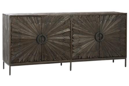 Dark Pine Starburst Sideboard - Main