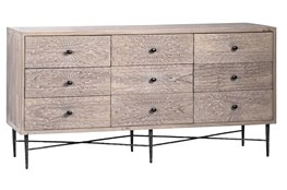 9 Drawer Pine Sideboard