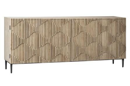 4 Door Diamond Pattern Sideboard - Main