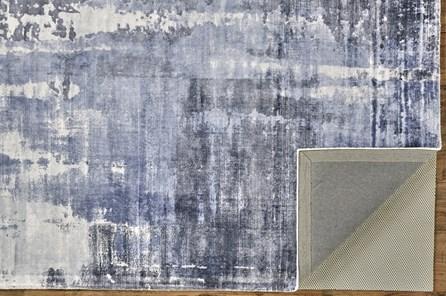 60X96 Rug-Contempory Luxe Sheen Blue