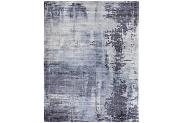 8'x10' Rug-Contempory Luxe Sheen Blue