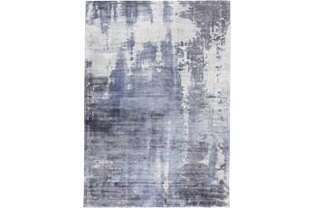 120X168 Rug-Contempory Luxe Sheen Blue