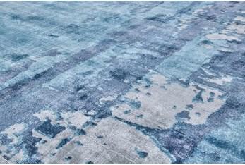 5'x8' Rug-Contemporary Luxe Sheen Ocean