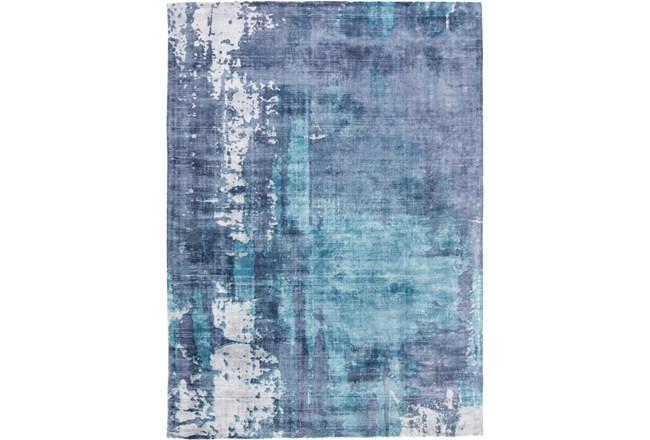 108X144 Rug-Contemporary Luxe Sheen Ocean - 360