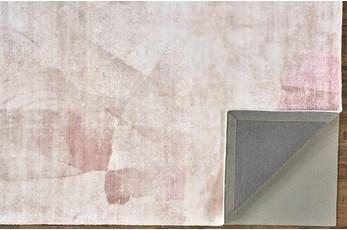 8'x10' Rug-Contemporary Luxe Sheen Blush