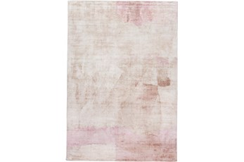 8'x10' Rug-Contemporary Luxe Sheen Blush