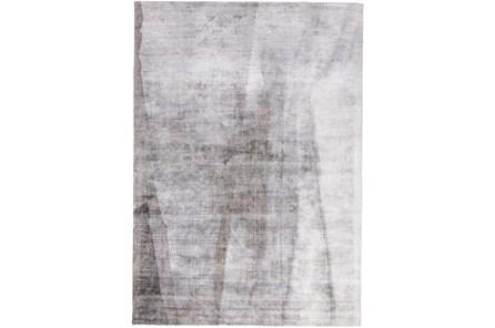 96X120 Rug-Contemporary Luxe Sheen Grey