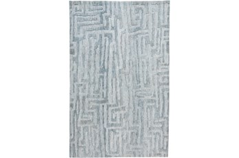 96X120 Rug-Micro Fiber Tribal Abstract Mist