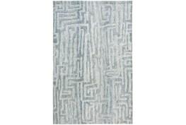 "9'5""x13'5"" Rug-Micro Fiber Tribal Abstract Mist"