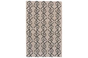 42X66 Rug-Tribal Geometric Charcoal/Grey