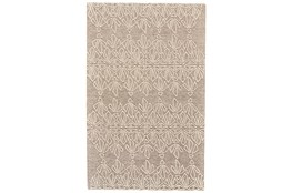 5'x8' Rug-Tribal Floral Ivory/Taupe