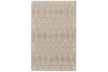 8'x11' Rug-Tribal Floral Ivory/Taupe
