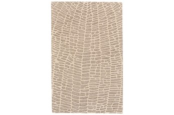 8'x11' Rug-Tribal Web Ivory/Grey