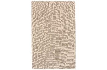 "2'5""x8' Rug-Tribal Web Ivory/Grey"