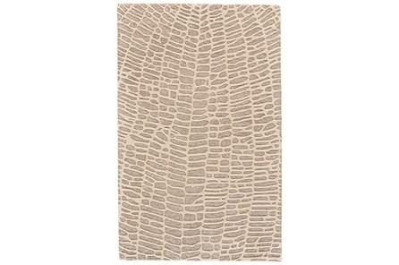 30X96 Rug-Tribal Web Ivory/Grey