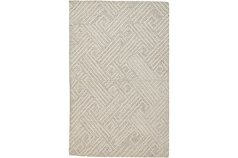 60X96 Rug-Tribal Lines Ivory/Natural