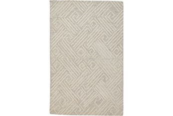 """9'5""""x13'5"""" Rug-Tribal Lines Ivory/Natural"""