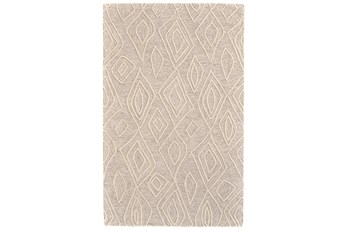 114X162 Rug-Tribal Geometric Ivory/Natural