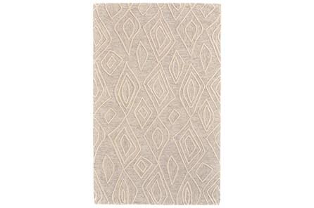 114X162 Rug-Tribal Geometric Ivory/Natural