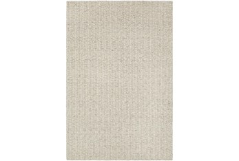 9'x12' Rug-Solid With White Striation Black/White