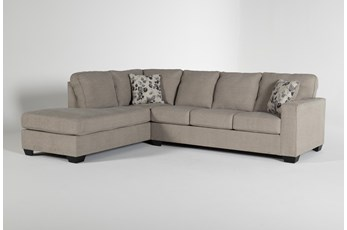"Seren Driftwood 2 Piece 110"" Sectional With Left Arm Facing Chaise"
