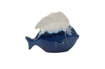 8 Inch Ombre Ceramic Fish