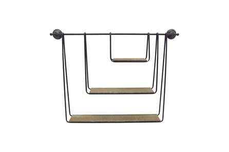 29 Inch 3-Tier Hanging Wall Shelf - Main