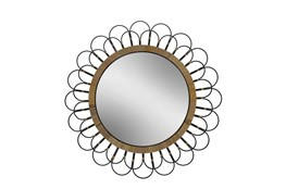 Cl 36 Inch Daisy Wall Mirror