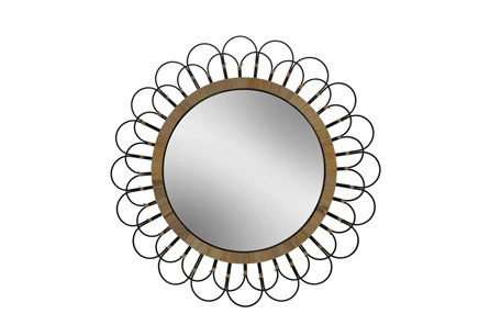 36 Inch Daisy Wall Mirror