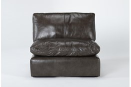 Marcello Leather Armless Chair
