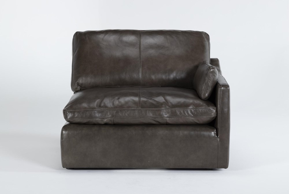 Marcello Leather Right Arm Facing Chair
