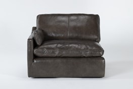 Marcello Leather Left Arm Facing Chair
