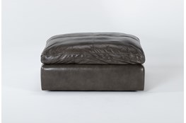 Marcello Leather Ottoman