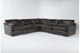 Marcello Leather 5 Piece Sectional