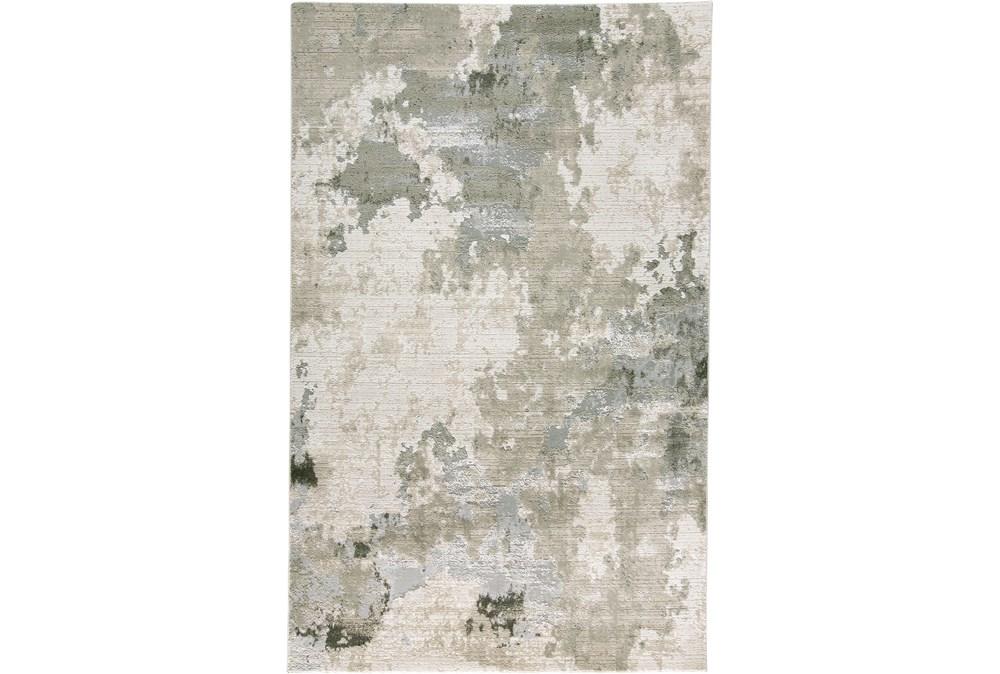 5'x8' Rug-Contemporary Ivory/Grey