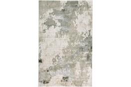 96X132 Rug-Contemporary Ivory/Grey
