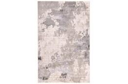 120X158 Rug-Contemporary Ivory/Grey