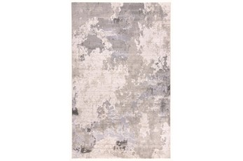 120X158 Rug-Contemporary Ivory/Grey